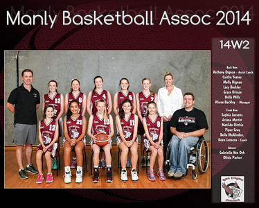 Manly Team 2014 14W2 (Large)