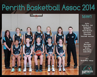 Penrith Team 2014 16W1  -  (Large)