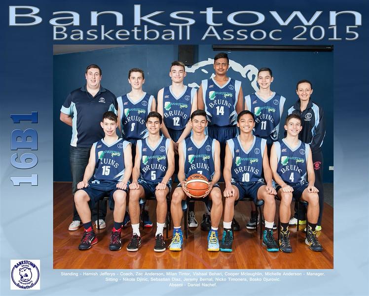 Bankstown Team 2015 16B1