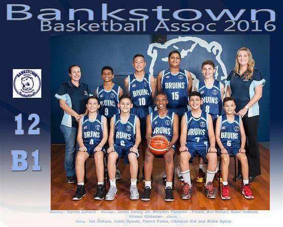 Bankstown Team 12 B1 2016