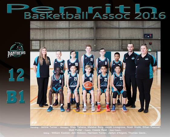 Penrith Team 2016 12 B1