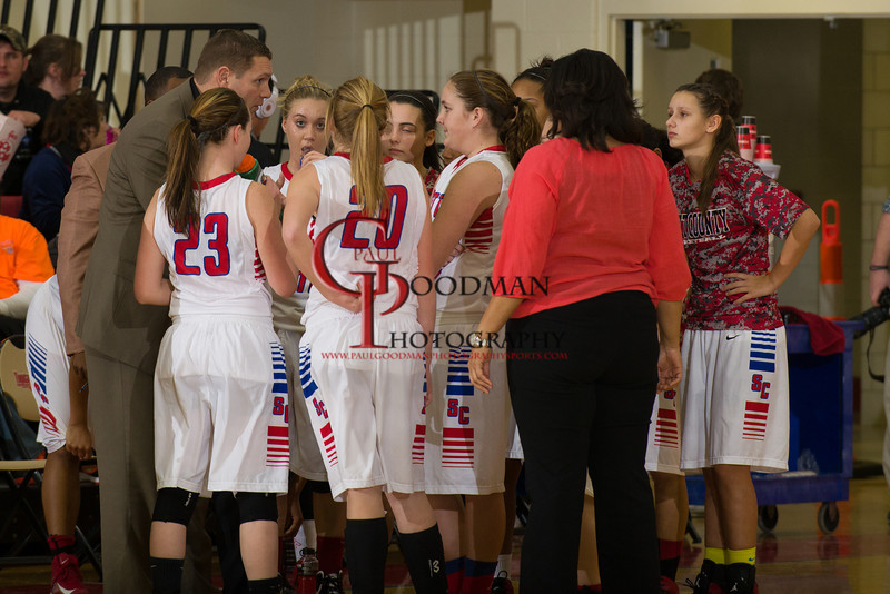 Scott Co vs Woodford Co Girls