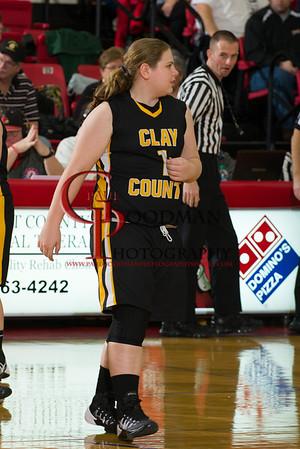 Scott Co vs Clay Co girls