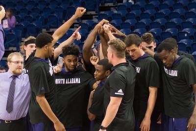 UNA Men's Basketball at Samford 2018