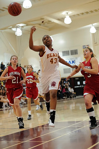 Menlo Atherton Varsity Women vs. Burlingame, 2011-02-04
