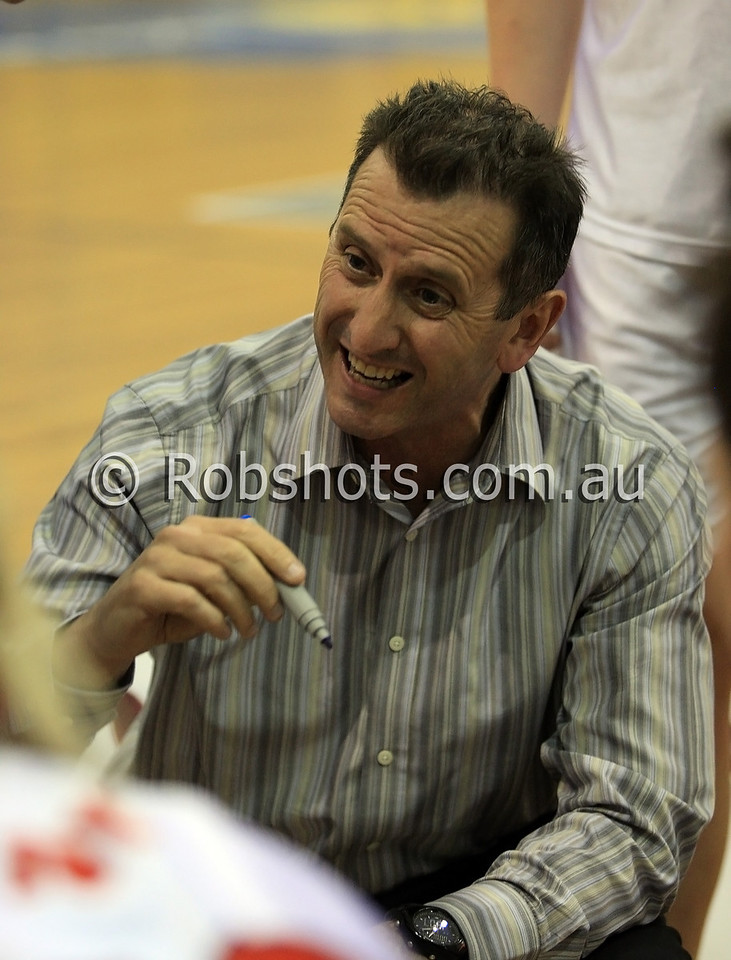 Phill Brown - A.I.S - Images from the 2009/10 WNBL Round 9 match between the Sydney Uni Flames and the Australian Institute Of Sport at the Acuvue Sports Hall, Sydney on Wednesday the 2nd of December 2009. The match was won by Sydney Uni 101-49.   (PHOTO: ROB SHEELEY - SMP IMAGES) These images are intended for editorial use only (e.g. news or commentary print or electronic). Any commercial or promotional use requires additional clearance.