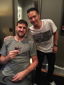 Here is Bogut with his logoman :)