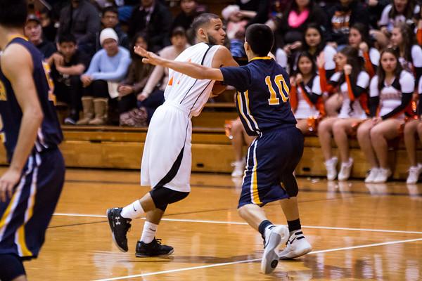 Wasco vs Shafter Varsity Boys Basketball 2016