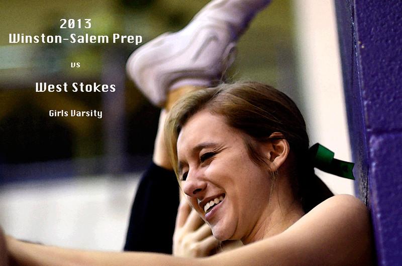 Winston-Salem Prep vs West Stokes, Boys & Girls Varsity 2013