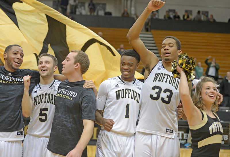 Wofford vs Samford Basketball