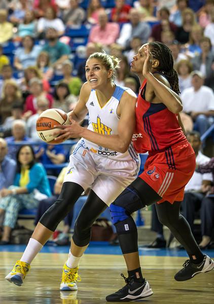 Elena Delle Donne returns to Newark