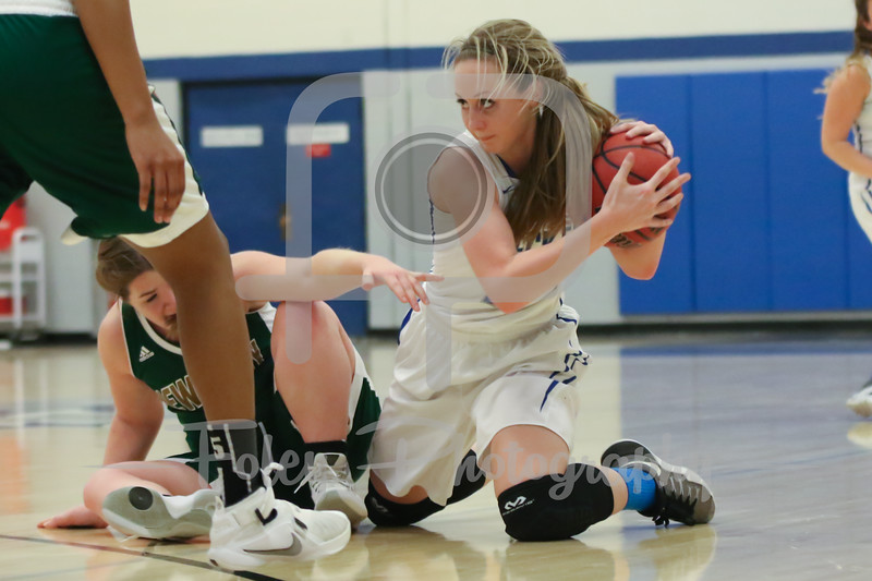 Becker College Hawks forward Micaela Rice (14)