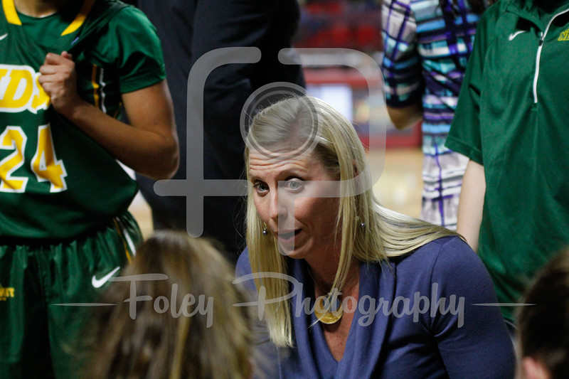 North Dakota State Bison head coach Maren Walseth