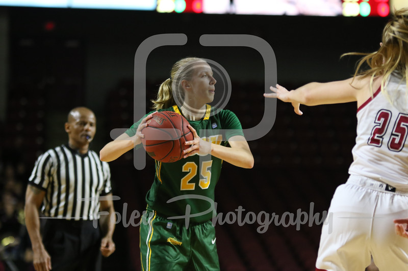 North Dakota State Bison guard Hannah Breske (25)