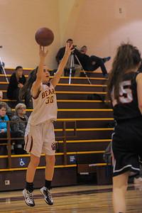 Menlo Atherton Varsity Girl's Basketball vs. San Mateo High, January 28, 2014