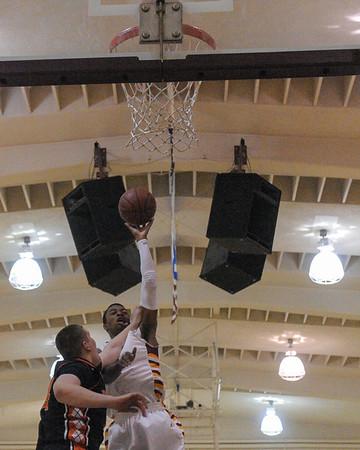 Woodside Boy's vs. M-A Varsity Basketball 2014-01-24
