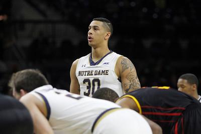 Notre Dame vs Grambling State Halftime