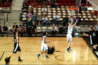Shelton State basketball vs The Tetons