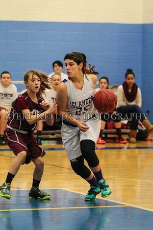 Gaudet Basketball Girls Season 2014-2015