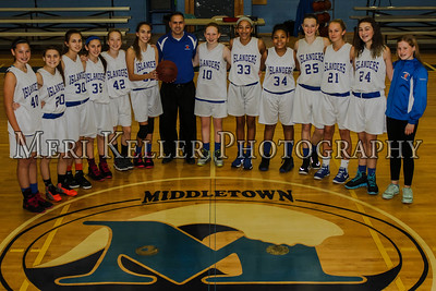 Gaudet Girls Basketball TEAM 2015-2016