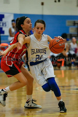 Gaudet vs Thompsen Basketball Girls 1.24.17