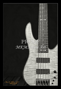 204.1951 Vic Wooten Classic 5 String in BW 1951