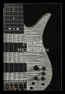 206.1951 Vic Wooten Classic 5 String in BW 1951