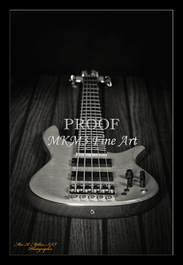 202.1951 Vic Wooten Classic 5 String in BW 1951