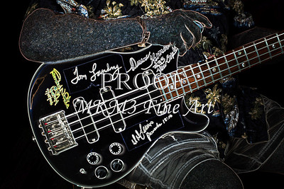 413.1952 PRS Bass in Dark Drawing 1952