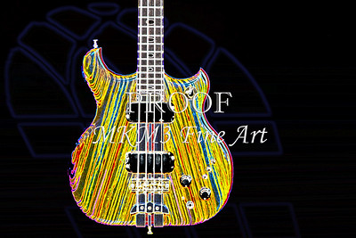 413.1836 Alembic Bass Guitar Drawing