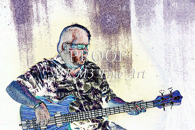 312.1836 Alembic Bass Guitar Watercolor