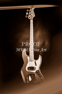 256.1834 Fender 1965 Jazz Bass Black and White