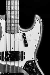 271.1834 Fender 1965 Jazz Bass Black and White