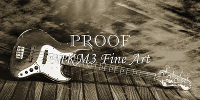 354.1834 Fender Red Jazz Bass Guitar in BW