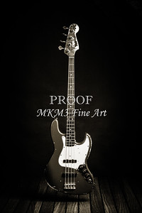 362.1834 Fender Red Jazz Bass Guitar in BW