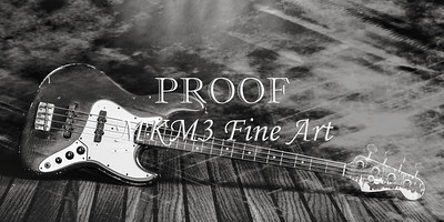 355.1834 Fender Red Jazz Bass Guitar in BW
