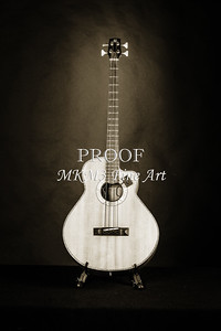 206.1838 Harris Acoustic Bass Black and White