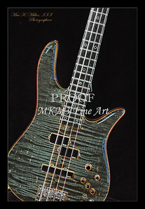 405.1954 Monarch Flame Maple 4 Bass in Drawing