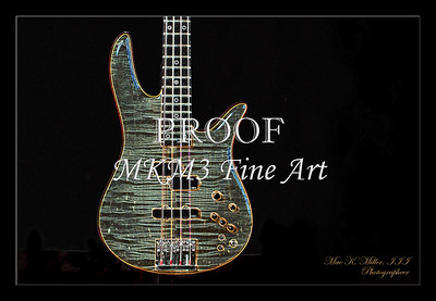 402.1954 Monarch Flame Maple 4 Bass in Drawing