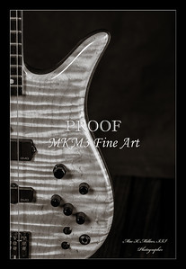 206.1954 Monarch Flame Maple 4 Bass in BW