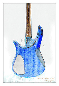 314.1954 Monarch Flame Maple 4 Bass in Watercolor