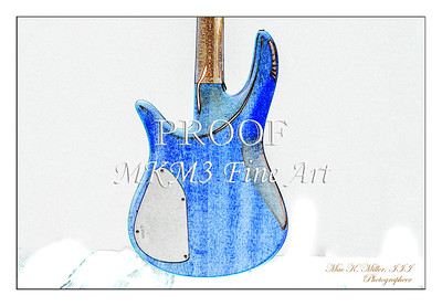 315.1954 Monarch Flame Maple 4 Bass in Watercolor