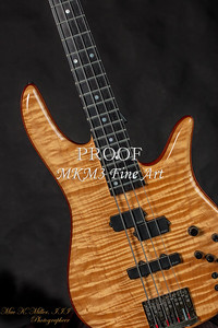 104.1954 Monarch Flame Maple 4 Bass in Color