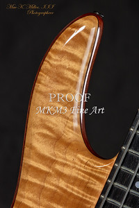 113.1954 Monarch Flame Maple 4 Bass in Color