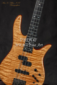 105.1954 Monarch Flame Maple 4 Bass in Color