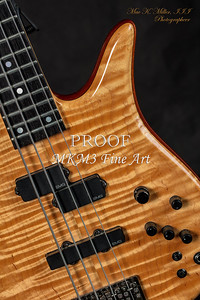 108.1954 Monarch Flame Maple 4 Bass in Color