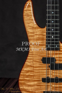 103.1954 Monarch Flame Maple 4 Bass in Color