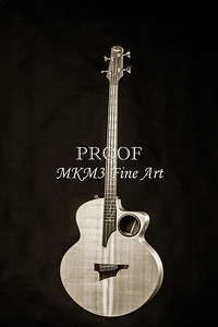 100.1835 Taylor AB1 Acoustic Electric Bass BW
