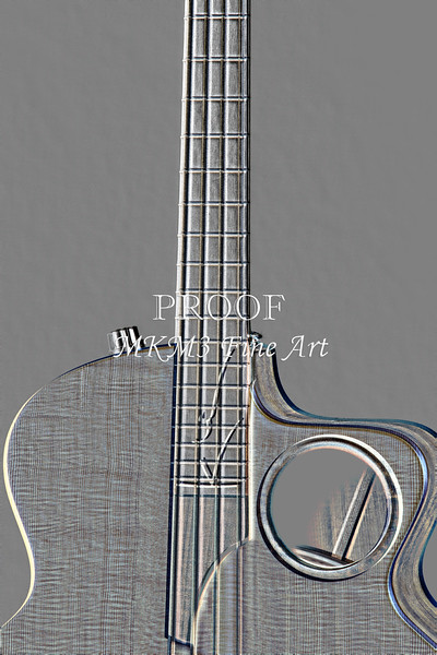 510.1835 Taylor AB1 Acoustic Electric Bass Embossed