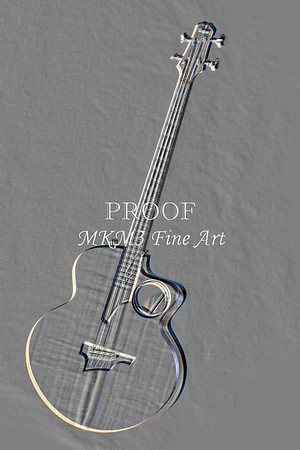 501.1835 Taylor AB1 Acoustic Electric Bass Embossed